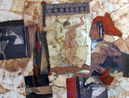 Sylvia Elliott, Mixed Media Collage