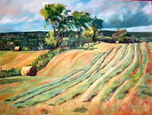 Hay Field - Ruth Lazier