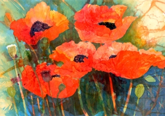Poppies II - Lin Souliere