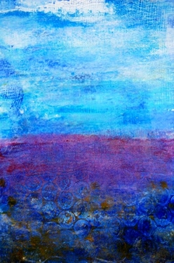 Serenity - Susan Watson, Oil and cold wax on paper