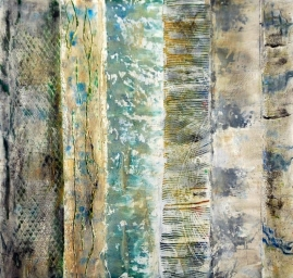 Where are the Woods - Susan Watson, Oil and cold wax on board