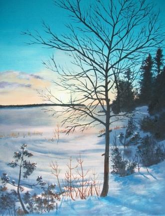 Sunset by Lyal Island, Lake Huron