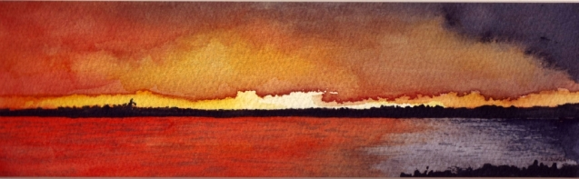 Huron Sunset - Sue Dyment