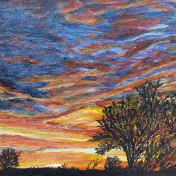 BKerton - Sunset acrylic