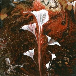 consider the lilies ... (acrylic)